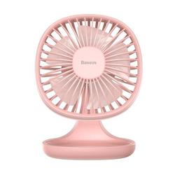 Ventilator Cooling Fan Schreibtisch Tischventilator USB Lüfter E/ Aus Schalter Rosa Powerbank