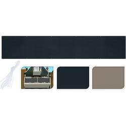 Balkonsichtschutz - robust und reißfest - Balkonbespannung Sichtschutz für Balkon