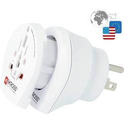 Skross 1.500204-E Reiseadapter CO W to USA