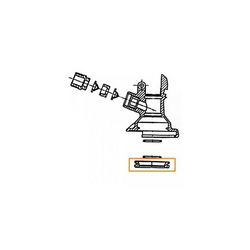 ich-zapfe Bierzapfanlage Hauptdichtung für Keg - Verschluss (Flach und Kombi -Fitting) (Micro Matic und Hiwi)