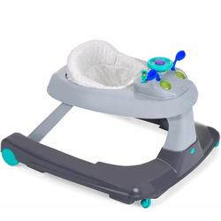 Hauck Lauflernwagen Ride On 1-2-3 grau Baby Lauflernhilfen Kleinkind