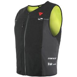 Dainese Smart D-Air® V2 Airbag Weste, schwarz-gelb, Größe M