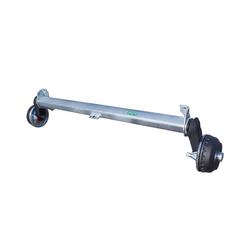 Achse 1350 kg,1510 mm, GEBREMST, für Pkw- Anhänger, AL-KO