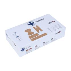 Lüllmann Bandage Wundpflaster Pflasterverband hypoallergen Pflaster Set2 MIX VE: 50Stück Pflaster (50-tlg) •Pflastermix Set 2◦25x Wundpflasterstrips - 25 x 72 mm ◦15x Fingerpflasterstrips - 120 x 20 mm ◦5x Fingerkuppenpflaster L - 45 x 63 mm ◦5x Fingergelenkpflaster S - 38 x 72 mm