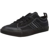 Diesel S-astico Low Lace Sneaker, Schwarz Black T8013 Pr012, 45