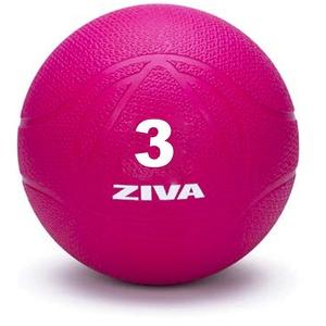 ZIVA Chic Medizinball, Erwachsene, Unisex, Rosa, 3 kg
