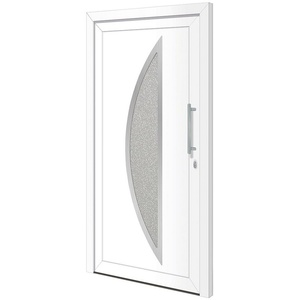 RORO Türen & Fenster Haustür Otto 15, BxH: 110x210 cm, weiß, ohne Griff