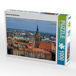 Altstadt mit Marktkirche Lege-Größe 64 x 48 cm Foto-Puzzle Bild von Prime Selection Kalender Puzzle
