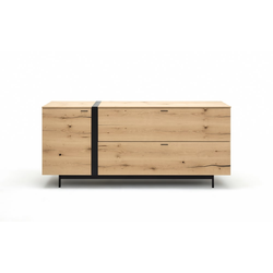 GWINNER Sideboard Style in Balkeneiche natur furniert