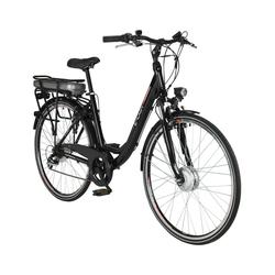 """CHRISSON, E-Bike City Damen, 28 """", 7-Gang, 13.4 Ah schwarz"""