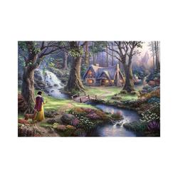 Schmidt Spiele Puzzle Puzzle 1000 Teile Disney, Schneewittchen, Puzzleteile