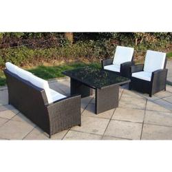 Baidani Rattan Garten Lounge Comfort