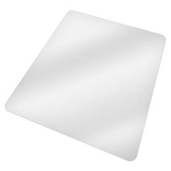 Fußmatte Bodenschutzmatte für Bürostühle, tectake, Höhe 0.18 mm 120 cm x 150 cm x 0.18 mm