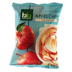 BioZentrale Bio Apfelchips, 4er Pack (4 x 50 g) - Bio