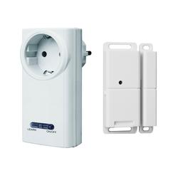 smartwares Smarter Kontaktsensor, FUNK SET: Fenster-Kontaktschalter für Dunstabzugshaube, Kamin & Steckschalter, Smart Home Geräte