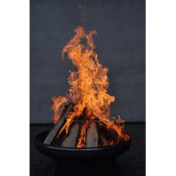 Feuerschale Ø800 mm Feuerkorb Pflanzschale Klöpperboden | Stahl