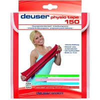 Deuser Physio Tape 2, 40 m Physiotape, rosa, One Size
