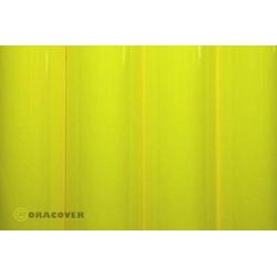 Oracover 25-031-002 Klebefolie Orastick (L x B) 2m x 60cm Gelb (fluoreszierend)