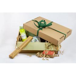 Vivid for Life Badezimmer-Set Nachkantig - Plastikfreies Bad, Die nachhaltige Surprise Box, (9-St), Suprisebox (Ben&Anna, Bambusliebe)