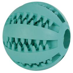 Trixie Denta Fun Baseball Mintfresh, Naturgummi, Durchmesser: 5 cm