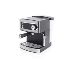 PRINCESS Espressomaschine 01.249407.01.001 Espressomaschine 15 bar 1.6 L Wassertank, 850 W, grau