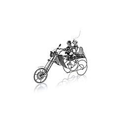 Flaschenhalter Motorrad