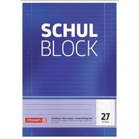 Brunnen Schulblock A4 Lineatur 27 50 Blatt
