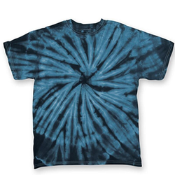Cyclone Youth T-Shirt | Dyenomite Navy Cyclone XS
