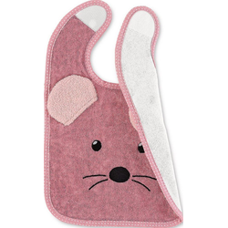 Sterntaler® Lätzchen Plastik-Klettlätzchen Emmi rosa