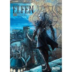 Elfen 10. Schwarzer Elf schwarzes Herz als Buch von Hadrien/ Yi Ma