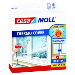 tesa Fensterfolie Thermo Cover 4 x 1,5 m, transparent
