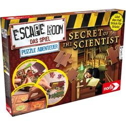 Noris Spiel, Escape Room Das Spiel, Puzzle Abenteuer - Secret of the Scientist