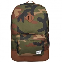 woodland camo/tan synthetic leather