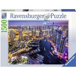 Ravensburger Puzzle Dubai am Persischen Golf, 1500 Puzzleteile, Made in Germany