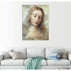 Posterlounge Wandbild, Kopf von Jesus 50 cm x 70 cm