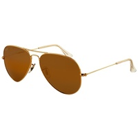 Ray Ban Aviator Large Metal RB3025 001/33 58-14 polished gold/brown classic