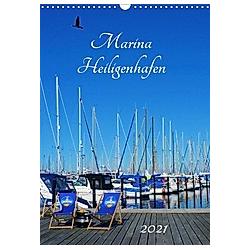 Marina Heiligenhafen (Wandkalender 2021 DIN A3 hoch)