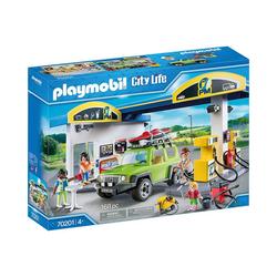 Playmobil® Spielfigur PLAYMOBIL® 70201 Große Tankstelle