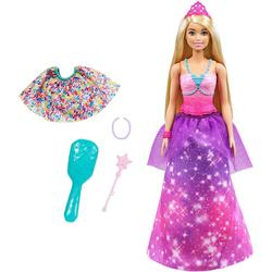 Barbie Anziehpuppe Dreamtopia 2-in-1 Prinzessin & Meerjungfrau Puppe