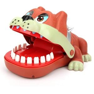 Bissfinger-Spiel, Mops-Zahnspielzeug-Spiel Kreatives Beißfinger-Eltern-Kind-Interaktionsspielzeuggeschenk Lustiges Witzspielzeug für Kinder