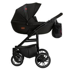 Clamaro Kombi-Kinderwagen, Grander Kinderwagen 2in1 Kombikinderwagen von Clamaro schwarz