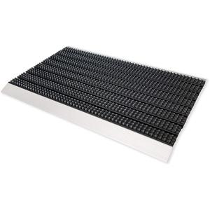 ASTRA Fußabstreifer Super Brush – Fußmatten für den Außenbereich – extrem strapazierfähige Türmatte – wetterfeste Türvorleger – 45x75cm, grau