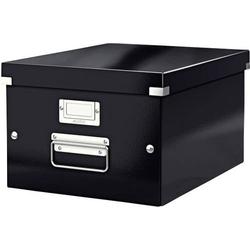 Leitz Aufbewahrungsbox 6044 Click & Store Schwarz (B x H x T) 281 x 200 x 370mm 1St.