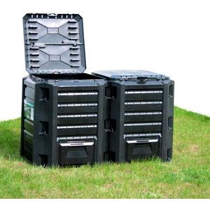 Prosperplast Komposter 800 l, BxTxH: 72x135x83 cm, 800 l