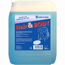Dreiturm HAIR & BODY Duschgel, Extra mildes Duschgel für Haut und Haar, 10 l - Kanister