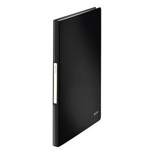 LEITZ Solid Sichtbuch schwarz mit 40 Hüllen