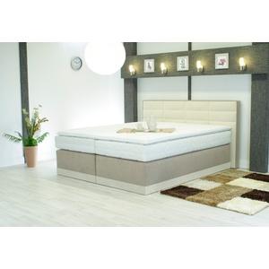 Westfalia Schlafkomfort Matratzenauflage, 200x200 cm, Bezug waschbar, weiß