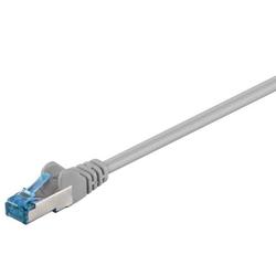 Patch Netzwerkkabel 0,5m S/FTP (PiMF) CAT 6a Grau