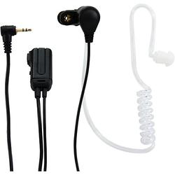 FRH-10 DUO - Luftschlauch Funkgerät-Headset, 2er-Pack, schwarz