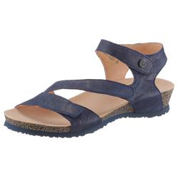 Think Sandalette blau Damen Keilsandalen Sandalen Sandaletten